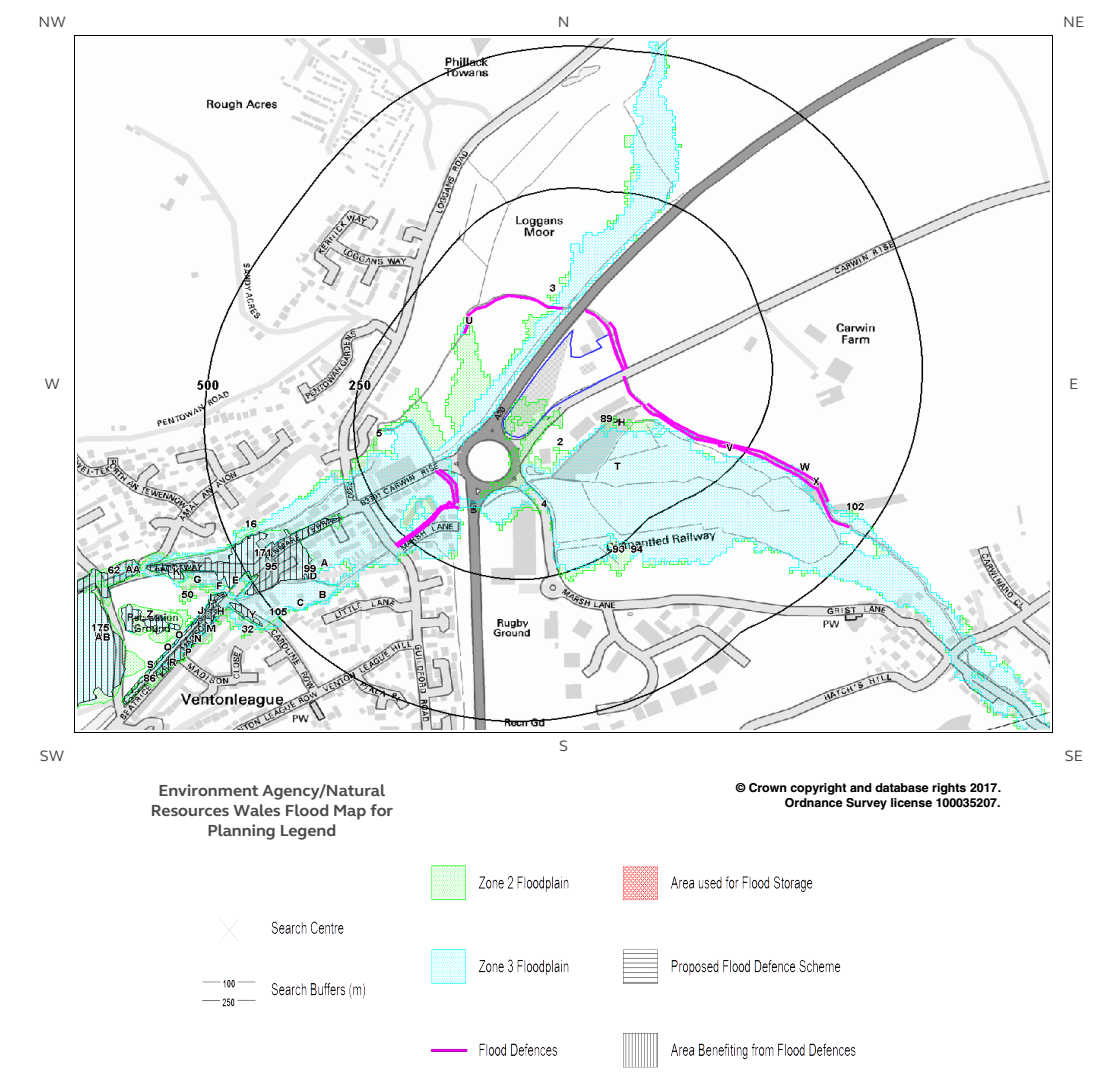 Extract From FLOOD RISK AND DRAINAGE ASSESSMENT