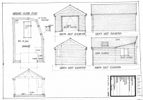 Burrows/PL01/16/A - Proposed Plan and Elevation