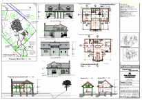 275/130 Proposed Floor Plans, Block Plan, Sections and Elevations