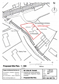 2017/266/MSY/03 Proposed Site Plan