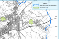 Angarrack | Map 8 Local Gaps | Hayle Neighbourhood Plan