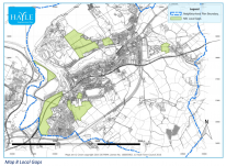 Map 3 Built-up Area Boundaries | Hayle Neighbourhood Plan