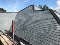 Image 1 showing example of proposed slate roof covering