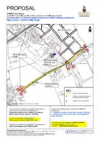 Consultation - Hayle - High Lanes - 30mph speed limit (TRXCP270-69) (Region West)