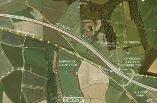 Option B | Chiverton Cross to Carland Cross