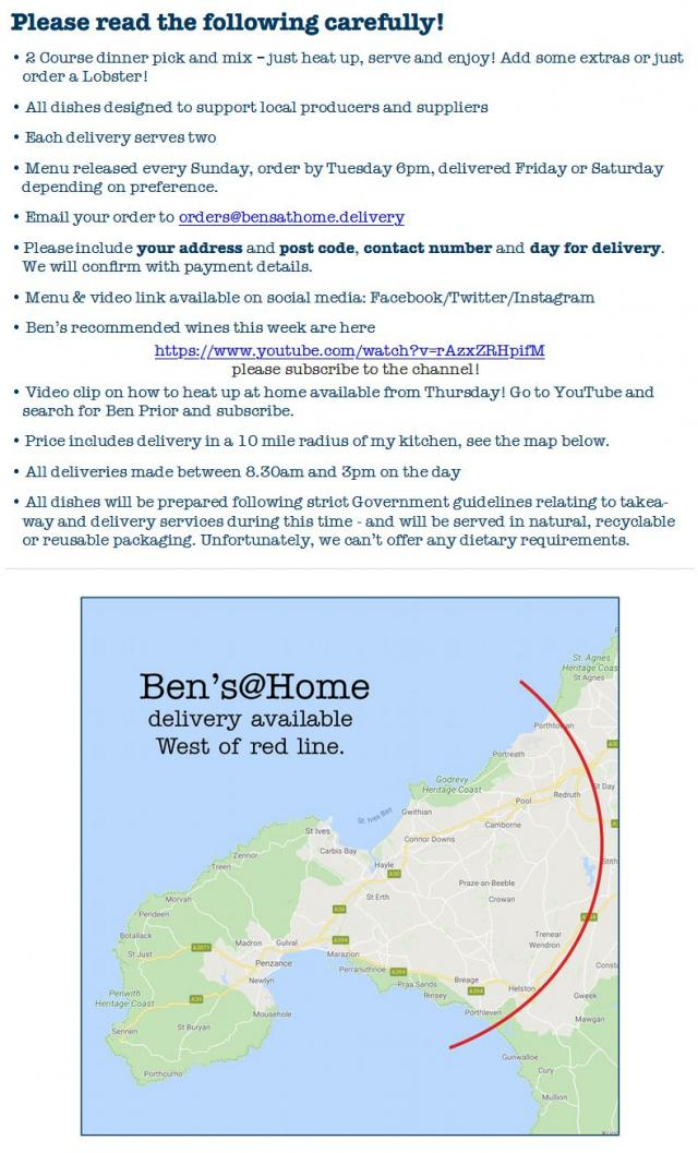 Pleas read the following carefully! | Ben's @ Home