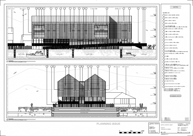 1838/P/102 Proposed Elevations