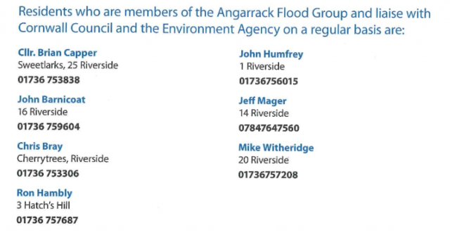 Angarrack Flood Group - Angarrack Flood Plan 2015