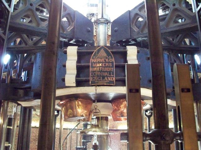 World's largest beam engine, built by Harvey's of Hayle