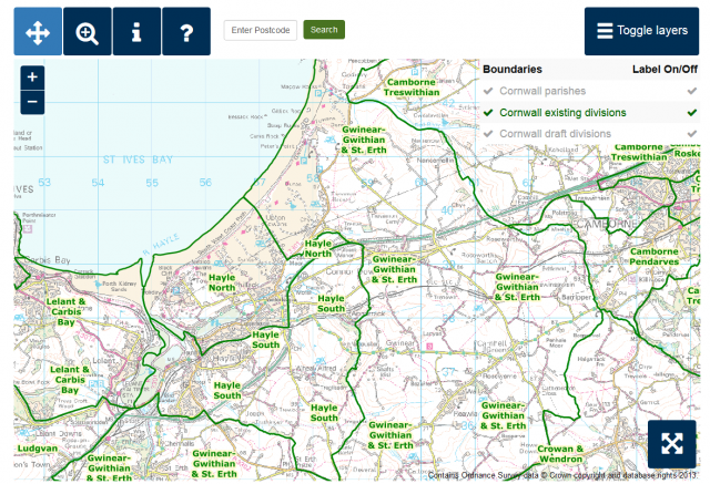 Hayle South (Existing) - Local Government Boundary Commission for England Consultation Portal
