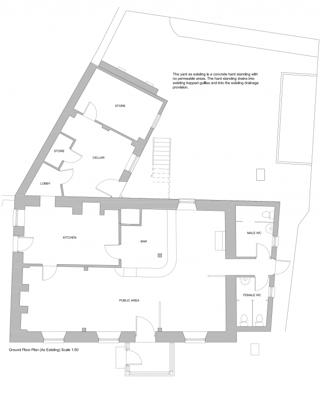 Email with Amended Plans - Ground Floor