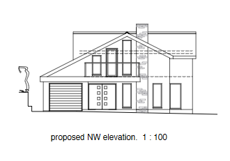 PA20/00542 PROPOSED Elevation NW