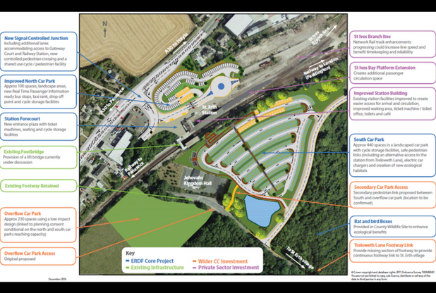 St Erth Multi Modal Hub general layout plan v2