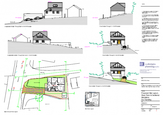 PA13/08062   Conversion and extension to detached garage to create a self-contained dwelling with on-site parking   14 Steamers