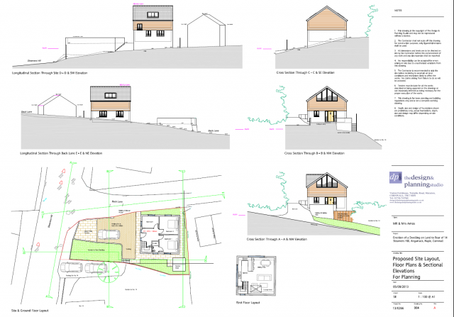 Plans and Elevations as Existing 1 to 100 at A1 23082013	05/12/2013