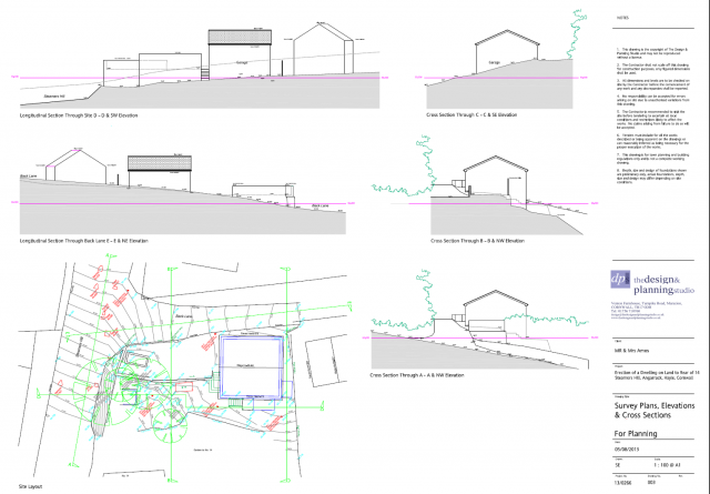 Plans and Elevations as Proposed Amended Scheme 12112013	05/12/2013