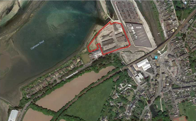 Proposed redevelopment of the Jewson site to include a new Jewson building and yard with redevelopment and conservation of the remaining premises to provide up to 60 residential units with associated access and open space.