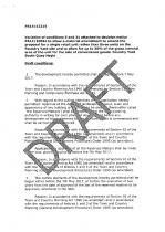 Draft Decision Notice - page 1