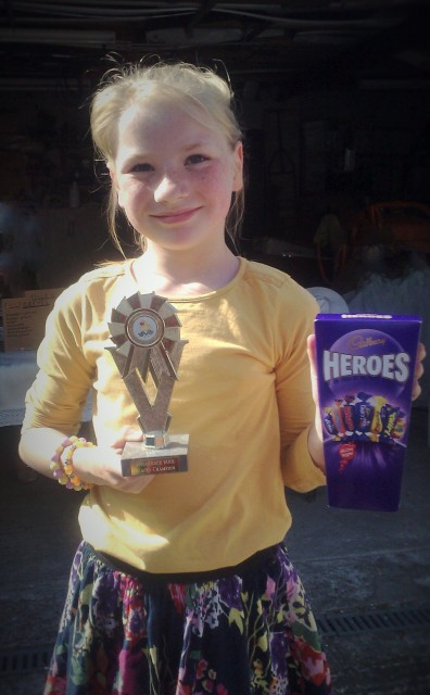 2015 Duck Races Champion - Abbie| May 2015