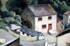 Cornish Watermill by Walter Steggles 1938