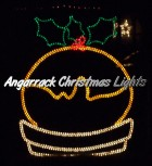 Angarrack Christmas Lights - Christmas Pudding