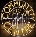Community Centre Light - new for 2010 | Christmas Lights