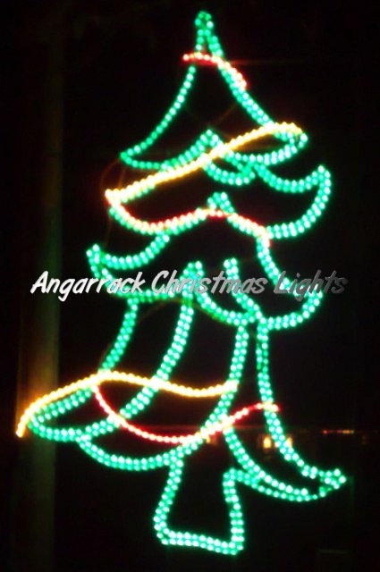 Wavy Xmas Tree 2010 | Christmas Lights