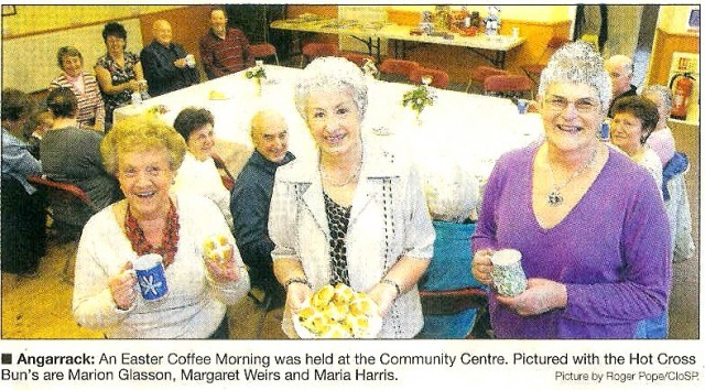Easter Coffee Morning at the Angarrack Community Centre
