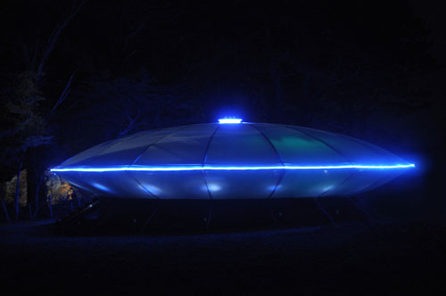 60-foot UFO Disco is landing at Sandsifter in Gwithian
