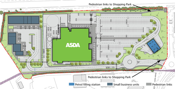 Store design and site layout | asdahayle.co.uk