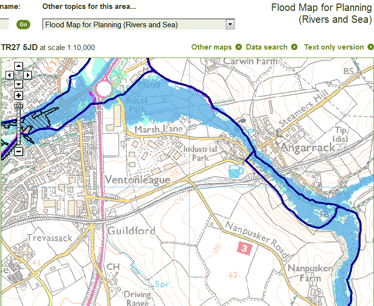Flood Map for Planning (Rivers and Sea) | Environment Agency